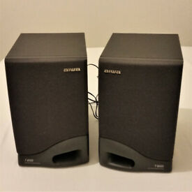 Aiwa 20w T-Bass Stereo Speakers