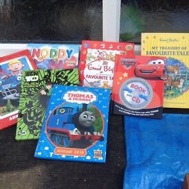 Selection of boys books