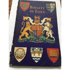 ROYALTY IN ESSEX SOUVENIR BOOK