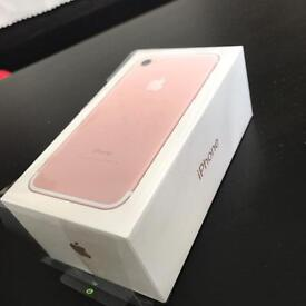 İphone 7 Rose Gold Brand New 32gb