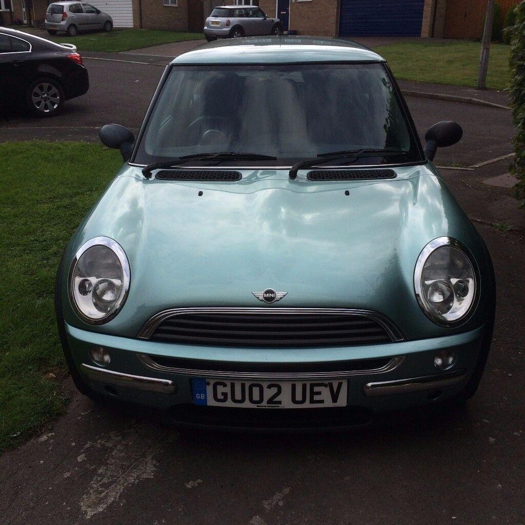 Metallic green Mini one