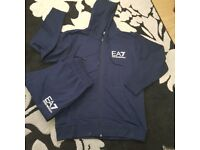 Ea7 tracksuits 2for £50