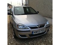 REDUCED! Silver Vauxhall Corsa 1.2 2005 reg