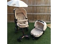 NEO Concord buggy with matching NEO sleeper (sun umbrella included and basket)