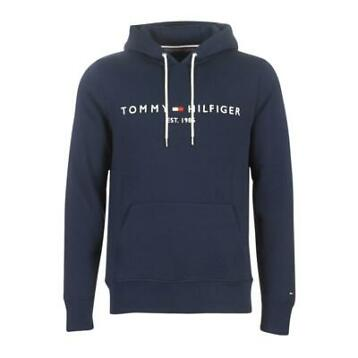 Tommy Hilfiger TOMMY LOGO HOODY Blauw Sweaters