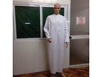 Wholesale Muslim Men Jubba Thobe (£1.50 each/minimum 100 pieces have to take)