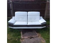 Sofa 3 seater and 1 seater DFS settee
