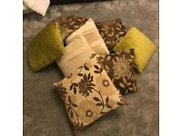 SOFA CUSHIONS FLORAL FROM NEXT GREAT CONDITION CHEAP SALE WARDROBE LIVING ROOM TABLE CHAIRS BED