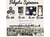 Fidget spinners brand new boxed