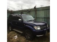 Breaking Toyota Land Cruiser prado 3.4litre petrol