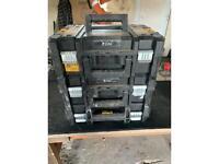 Dewalt T-stak tool boxes