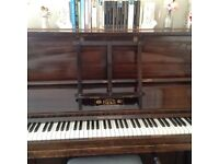 Hicks Upright Vintage Piano and stool