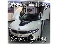 Window Tinting, Xenon Hid Lights, Xenon Repairs, BMW Coding, East London, Forest Gate