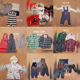 Boys 9-12 clothes