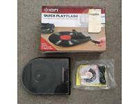 ION CONVERSION TURNTABLE WITH USB FLASH DRIVE