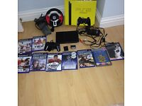 PS 2 slim version with 9 games