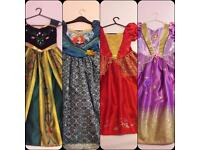 Disney Dresses x 4 (5-6yrs)