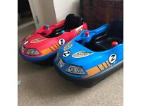 Electric Children's Battery Ride On Bumper Cars x2