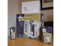 Tommee Tippee Perfect Prep Machine + Extras ~ Brand New