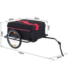 Large bicycle trailer