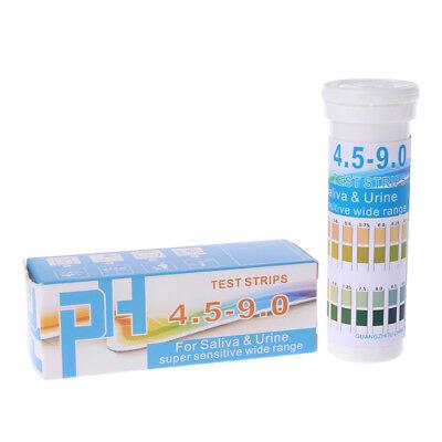150 Strips Bottled Ph Test Paper Range Ph 4.5-9.0 For Urine Saliva Indicator
