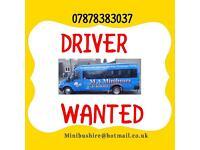 PSV / PCV DRIVER WANTED PART TIME PERMANENT SCHOOL RUN MINIBUS DRIVER manual D D1 drivers license