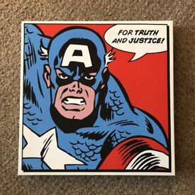 6 Superhero Canvas Pictures
