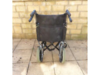 Folding wheelchair - maker=Days