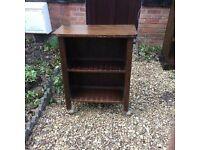Small bookcase or storage unit