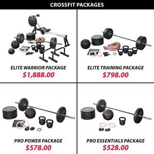 Rower | Package | Set | Training | Bundle | Crossfit | Weightlifting | Powerlifting | Weight | Kettlebell | Barbell