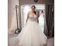 Anna sorrano size 18 wedding dress brand new