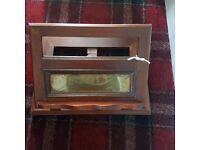vintage oak lectern