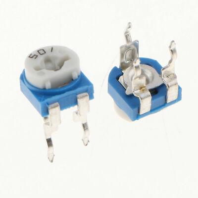 20pcs 500ohm 501 Adjustable Resistor Trimmer Potentiometer Rm065 - Us Seller