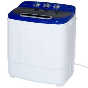 Best Choice Products Portable Compact Mini Twin Tub Washer and Spin Cycle Dryer - BRAND NEW - FREE SHIPPING
