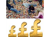 CASH PAID FOR LEGO and SETS paid per kg or set