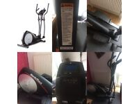 For saleCross Trainer NordicTrack E400 Elliptical Cross Trainer. Used 3 times cost £399 Accept £200
