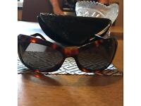 Women's genuine Versace sunglasses