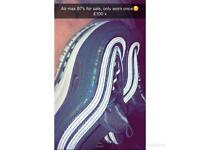 Women's Nike Air Max 97's (brand new) size 6