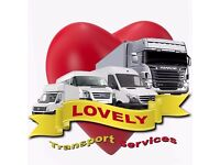 VAN AND MAN/ REMOVAL SERVICES. STARTS FROM £15. LOVELY SERVICES