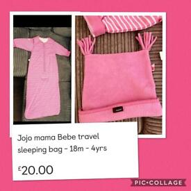 Jojo maman Bebe - Childs travel sleeping bag 👧🏼👦🏼