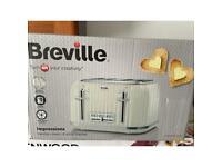 Breville 4 slice toaster and mug tree