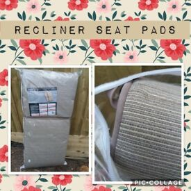 6 brand new recliner seat pads