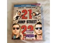 21 & 22 Jump Street Double Blu Ray Pack