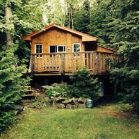 Cottage for rent on windy lake