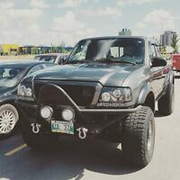 Lifted 2004 Ford Ranger FX4 Level 2 XLT Supercab Manual Trans