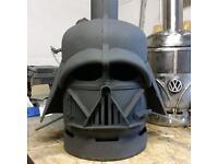 Star Wars darth Vader style patio heater gas bottle log burner Vw storm trooper