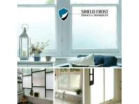 Window Film: Frosted, Etched, Privacy Glass (Supply & Fit)
