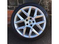 1x 18'' VW GTI ALLOY WHEEL TYRE SPARE CADDY MK7 MK6 MK5 SINGLE 5x112