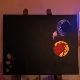 The Planets painting