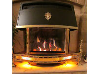 Valor Gas Fire Homeflame Super Delux Log or Coal Effect - Had very little use